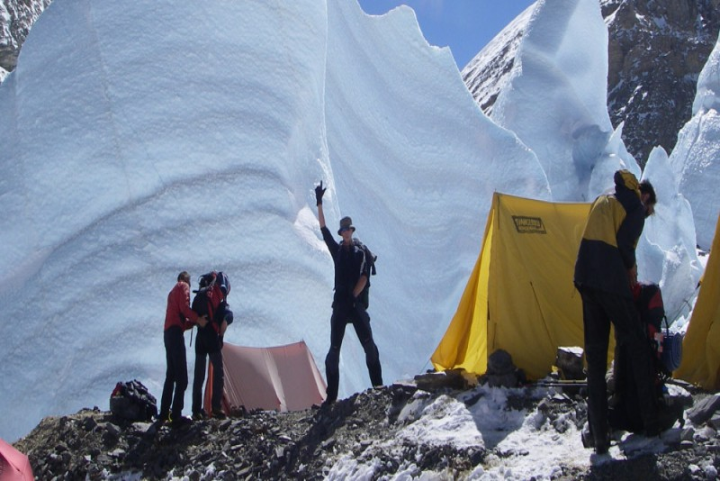 Everest Expedition south side Nepal