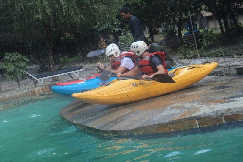 Kayak Instruction for Beginner