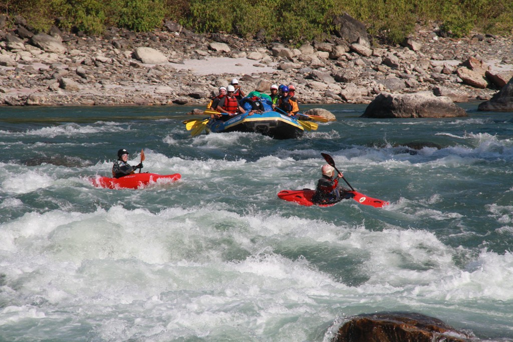 Bhote Koshi River